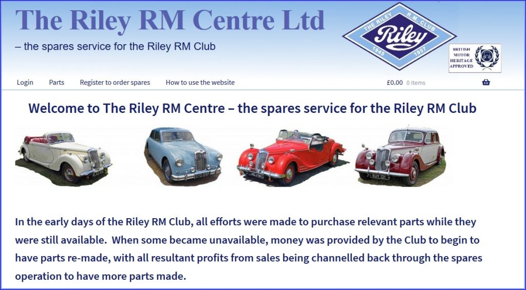 The Riley RM Centre Ltd